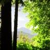 En vy från Attadale trädgård